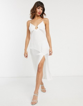 Vestire palm beach midi slip dress