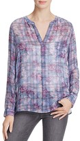 Joie Brigid C Printed Silk Shirt