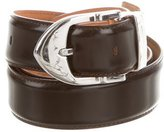 Louis Vuitton Leather Classique Belt