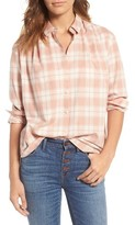 Madewell Women's Central Plaid Shirt