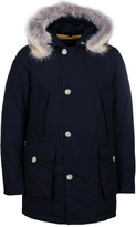 Woolrich Navy Down Filled Arctic Parka