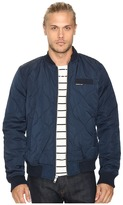 Members Only Oval Quilted Bomber Puffer Jacket