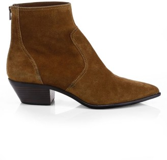 Loeffler Randall Joni Suede Ankle Boots
