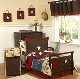 Sweet Jojo Designs Wild West Cowboy Western Toddler Bedding 5 pc set