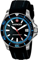 Wenger Women's 0621.102 Sea Force 3 H Analog Display Swiss Quartz Watch