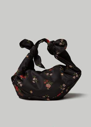 Simone Rocha Printed Floral Large Wrap Bag