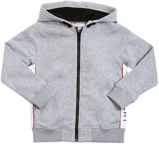 Givenchy HOODED ZIP-UP COTTON SWEATSHIRT