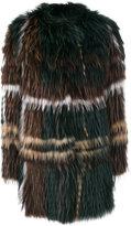 Yves Salomon oversized fur coat