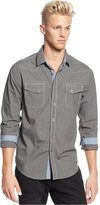 American Rag Men's Mini Houndstooth Shirt