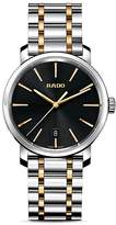Rado Diamaster XL Quartz Carbon Diffused Stainless Steel & Rose Gold PVD Watch, 40mm