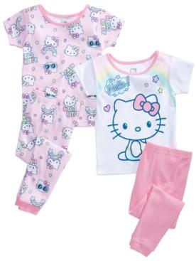 Hello Kitty Toddler Girls 4-Pc. Pajama Set