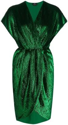Elisabetta Franchi Wrap Style Dress