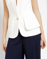 CAYCIW Peplum layered suit waistcoat