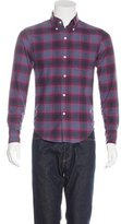 Band Of Outsiders Plaid Flannel Shirt w/ Tags
