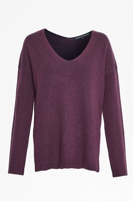 French Connection Isabea Knit V Neck Jumper