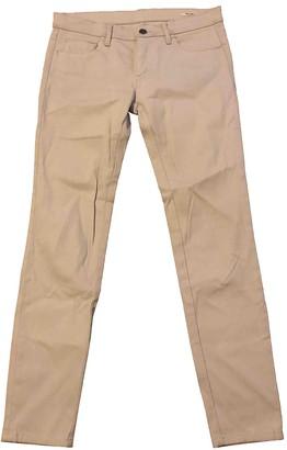 Miu Miu Grey Cotton - elasthane Jeans
