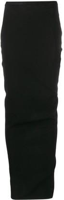 Rick Owens Straight-Fit Maxi Skirt