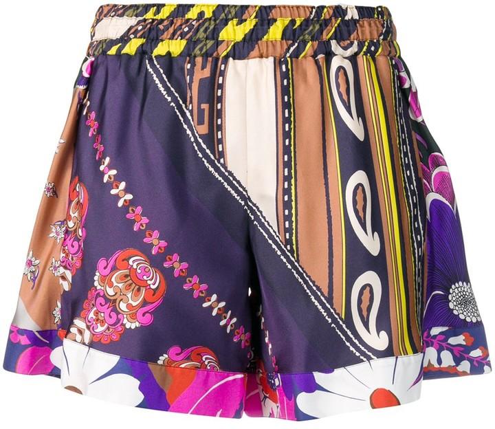 Chloé printed shorts