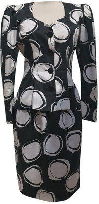 Guy Laroche Black Cotton Jacket for Women Vintage