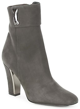 Magrit ELEGANCE HI women's Low Ankle Boots in Grey