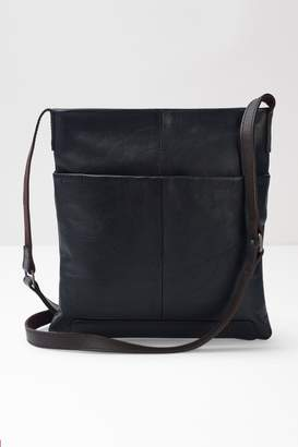 White Stuff Womens Black Issy Leather Crossbody Bag - Black