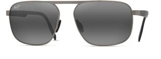 Maui Jim Men's Waihee Ridge Polarized Metal Sunglasses