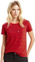 Levi's Women's Perfect Striped Pocket Tee