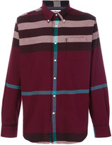 Barbour large checked shirt
