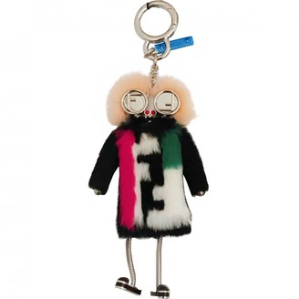 Fendi Witches Black Mink Bag charms
