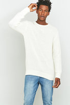 Soulland Ricketts Off White Honeycomb Jumper