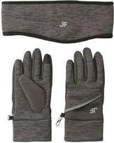Joe Fresh Women's Tech Gloves and Headband Set, Grey Mix (Size O/S)