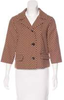 Marni Patterned Notched-Lapel Blazer