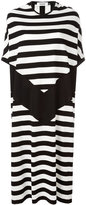 Marios striped shift dress - women - Cotton - S