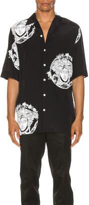 Versace Medusa Shirt in Black | FWRD