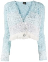 Pinko v-neck button-up cardigan