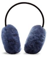 Yves Salomon Fur-trimmed ear muffs