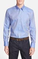 Peter Millar Men's Big & Tall 'Nanoluxe' Regular Fit Wrinkle Free Sport Shirt