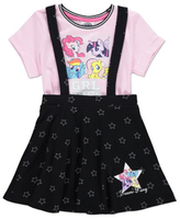 George My Little Pony Pinafore and T-shirt Set