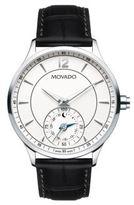 Movado Circa Motion Croc-Embossed Quartz Watch