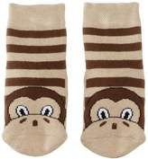 Country Kids Slipper Monkey Animal Print Socks, (Manufacturer Size:)