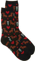 Hot Sox Milkshake Dogs Crew Socks - Women's