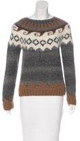 Smythe Alpaca Patterned Sweater
