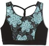 Gap GapFit kids floral twist racerback sports bra