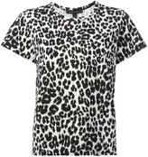 Marc Jacobs classic leopard print T-shirt - women - Cotton - L