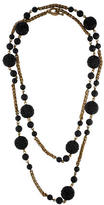 Stephen Dweck Carved Bead Necklace