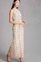 Forever 21 FOREVER 21+ Sequin Maxi Dress