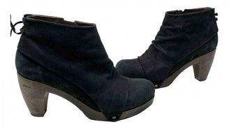Coclico Black Leather Boots