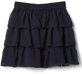 Gap Dotty tiered flippy skirt