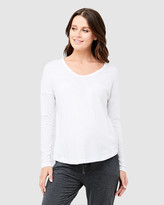 Ripe Maternity Bowie Long Sleeve Tee