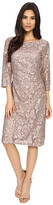 rsvp Becca Lace Dress with Rouche Side